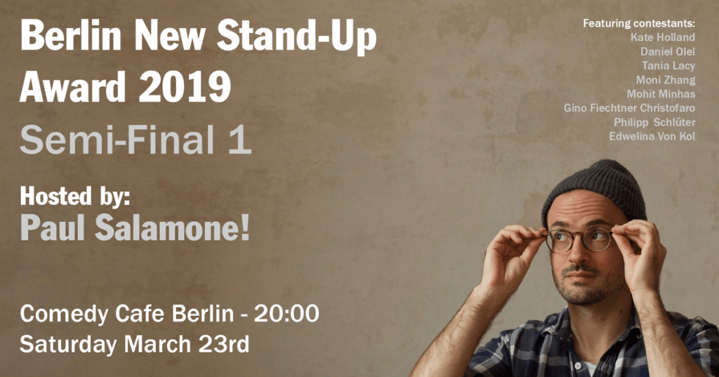 Berlin New Stand-Up Award