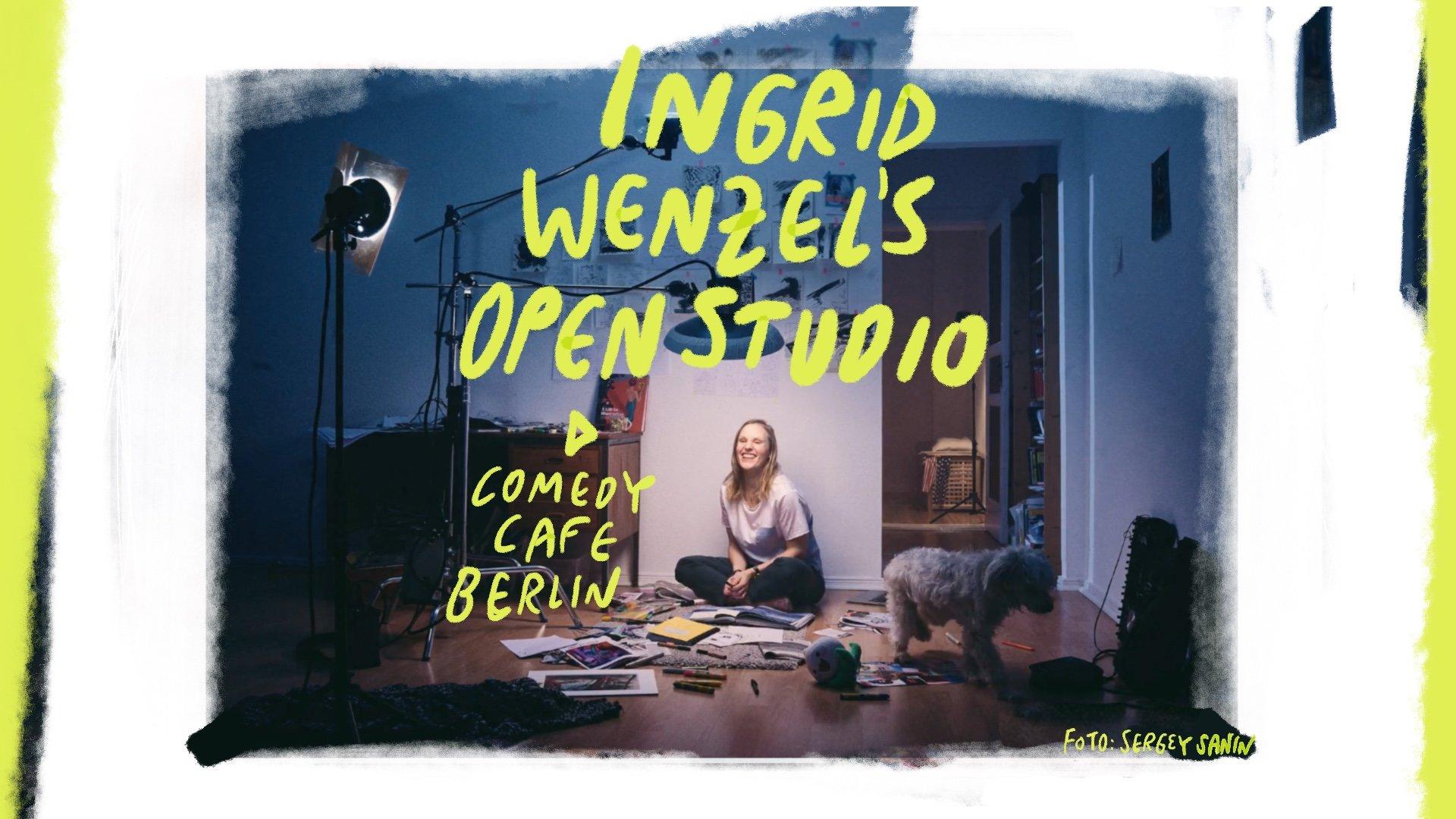 Ingrid Wenzel's Open Studio