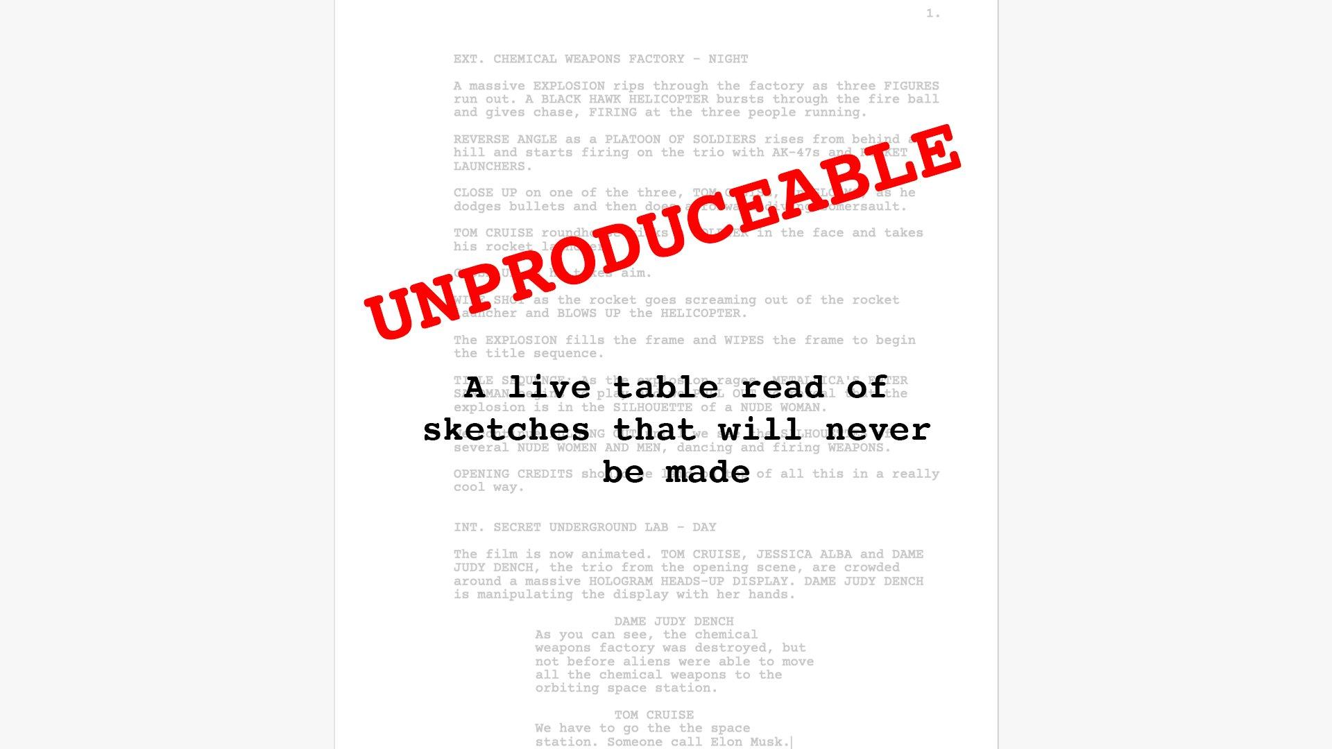 Unproduceable
