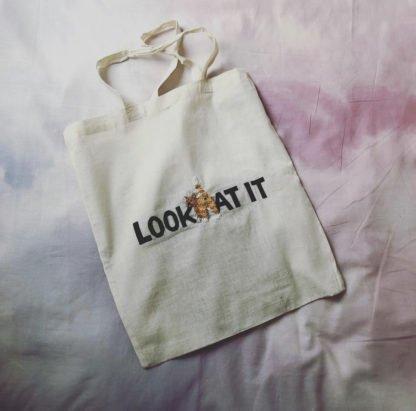Look At It Tote bag