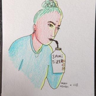 Pandemic Postcards - Sanitizer