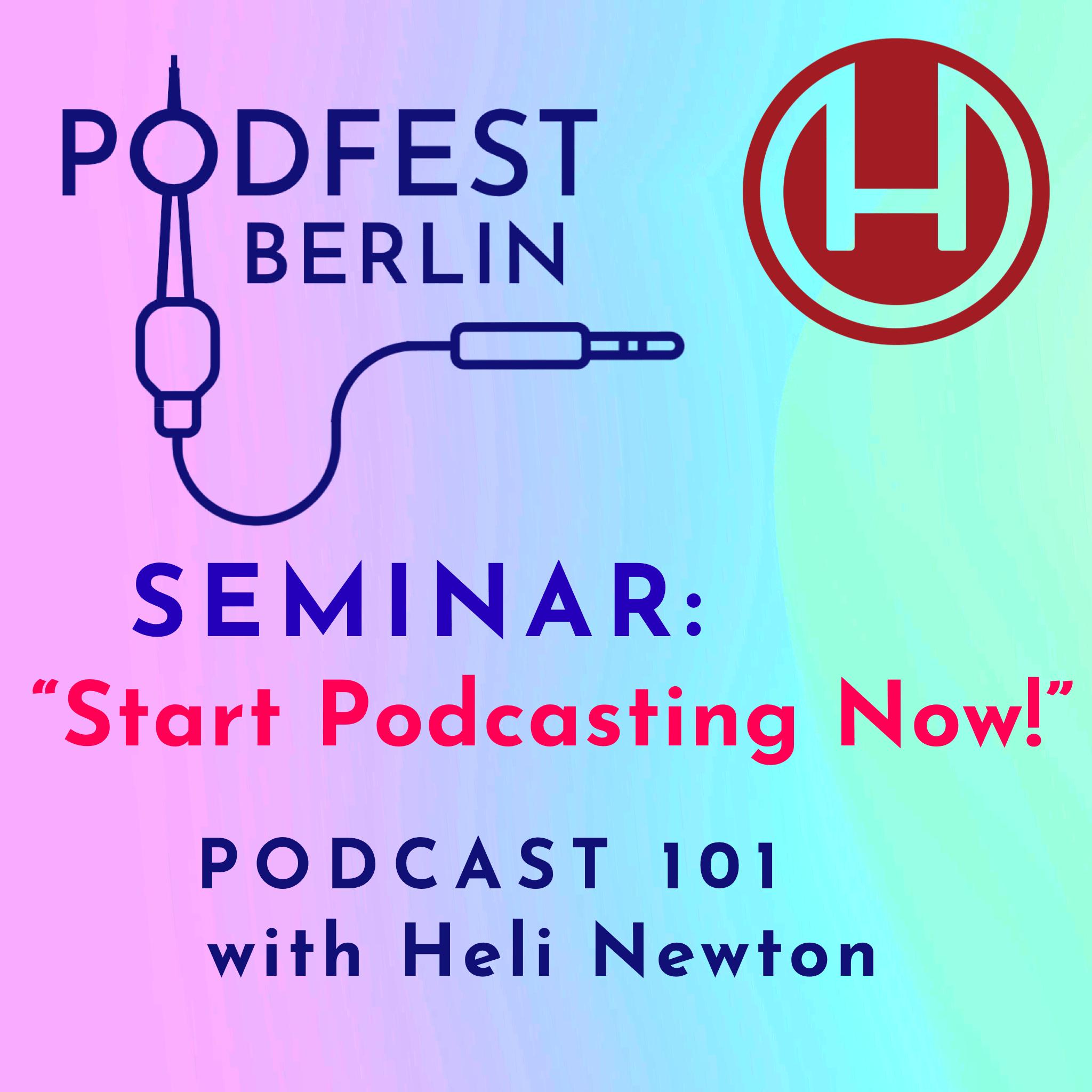 Start Podcasting Now